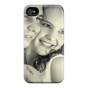 Flexible Tpu Back Case Cover For Iphone 4/4s - Just Married