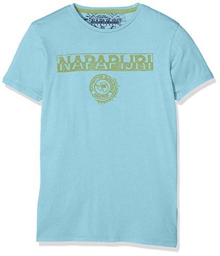shirt Boy K Napapijri Spartan reef T Turquoise 86ptZnIwqx