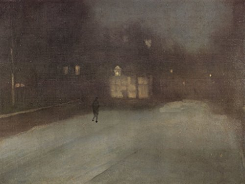 - Lais Jigsaw James Abbot McNeill Whistler - Nocturne in Gray and Gold, Snow in Chelsa 2000 Pieces