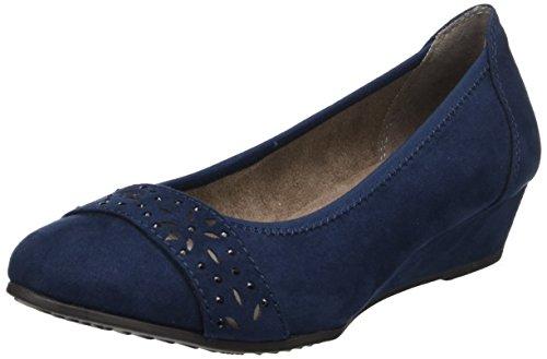 22260 Blue Softline navy Women''s toe Pumps Closed 0U5Haq