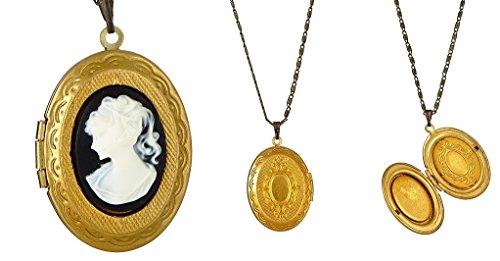 (Vintage Locket Necklace)