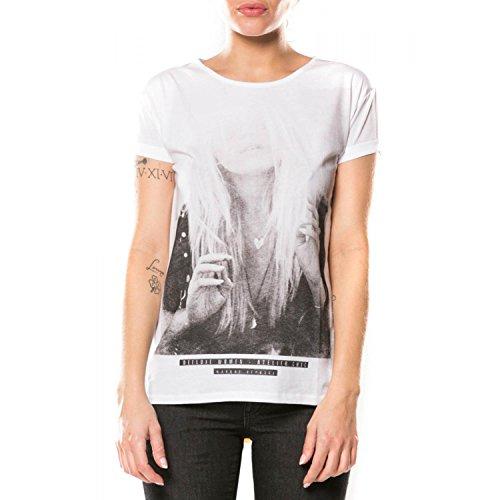 Deeluxe - Camiseta - para mujer blanco