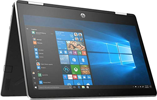 HP Pavilion X360 2-IN-1 11.6″ HD Touch-Screen WLED-backlit Laptop, Intel Pentium N5000 up to 2.7GHz, 4GB DDR4, 128GB SSD, Bluetooth, WIFI, HDMI, Webcam, USB 3.1-C, Media Card Reader, Win 10 (Renewed)