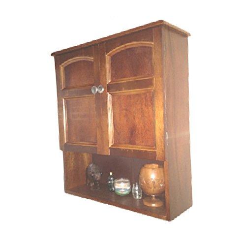 Rustic Wall Mount Cabinet Kitchen Bathroom Storage Farmhouse Wood Antique Organizer Vintage & eBook by OISTRIA