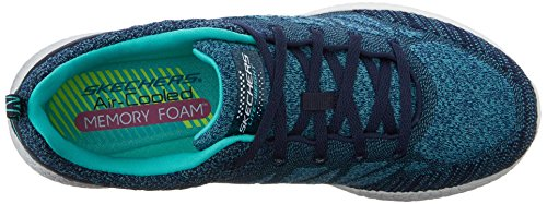 Skechers Burst New Influence - Zapatillas de deporte Mujer Navy-Aqua