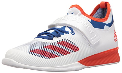 adidas Men's Shoes | Crazy Power Cross-Trainer, White/Energy Collegiate Royal, (13 M US)