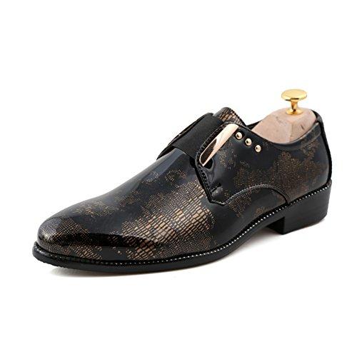 Zapatos de cuero fuerte de moda de verano/Zapato casual todos los días/Corte bajo encaje zapatos de negocio A