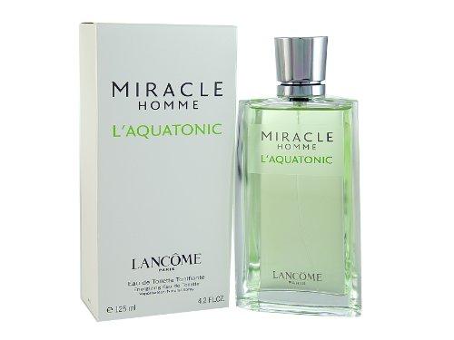Miracle L'aquatonic By Lancome For Men. Eau De Toilette Spray 4.2 Ounces