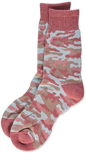Carhartt Women's Camouflage Crew Socks,  Pink, Shoe: 5.5-...