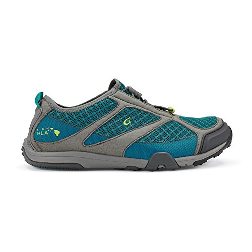 Olukai Eleu Trainer Water Shoe - Women's Sea Green/Charcoal, 7.0