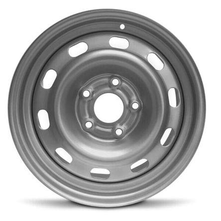 Road Ready Car Wheel For 2004-2012 Dodge Ram 1500 17 Inch 5 Lug Gray Steel Rim Fits R17 Tire - Exact OEM Replacement - Full-Size Spare (Truck Dodge Rims 17)