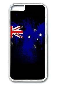 Custom Phone Case Cover England Flag Design for iPhone 6 4.7(Laser Technology)