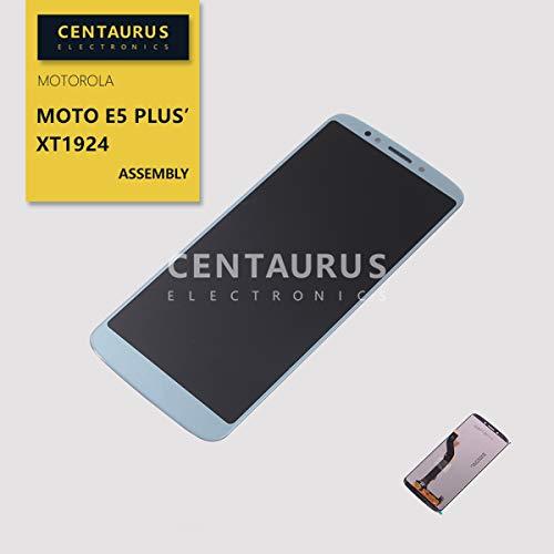 (Assembly For Motorola Moto E5 Plus XT1924-1 XT1924-2 XT1924-3 XT1924-4 XT1924-5 XT1924-7 XT1924-8 XT1924-9 / Moto E5 Supra XT1924-6 6.0 inch LCD Display Touch Screen Digitizer Replacement Parts (Blue))