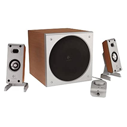 7e36d259d90 Amazon.com: Logitech Z-3 Wood Grained 2.1 Speakers: Electronics