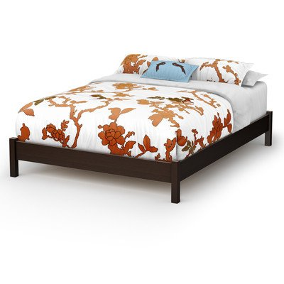 Step One Platform Bed Size: Queen, Finish: Pure White (Bed Oak King Size Poster)