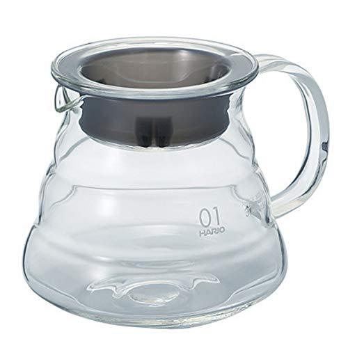 Hario V60'Clear' Glass Range Coffee Server, 360ml
