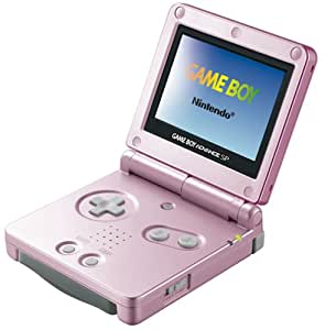 Amazon.com: Game Boy Advance SP - Pearl Pink [Japan Import