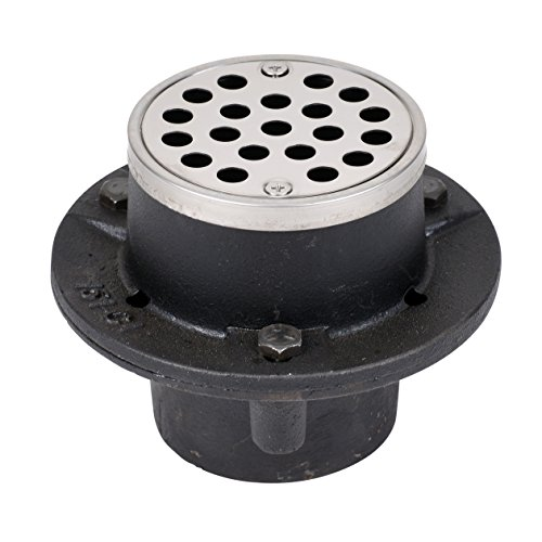 Oatey 42201 151 CI NC NO-CALK Cast Iron Shower Drain, 2-Inch