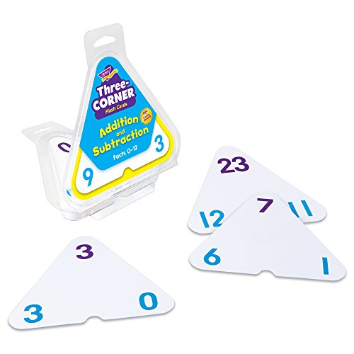 Three-Corner Flash Cards: Addition and Subtraction