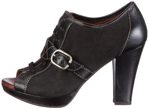 Zapatos De Clásicos Para Negro 49449250 Naya Mujer Nobuck Cuero Kasha ZTqfTwg