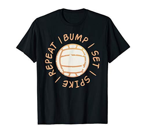 (Bump Set Spike Tshirt Volleyball Shirts Sport Lovers Gifts )