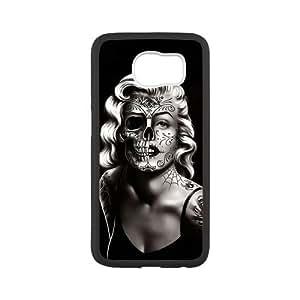 Super Artswow Samsung Galaxy S6 Marilyn Monroe Art Custom Plastic TPU Cell Phone Case