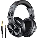 OneOdio A70 Bluetooth Over Ear Headphones  Studio Headphones with Shareport  Foldable  Wired and Wireless Professional Monitor Recording Headphones for Guitar Amp Online PC Tablet Home Office Online