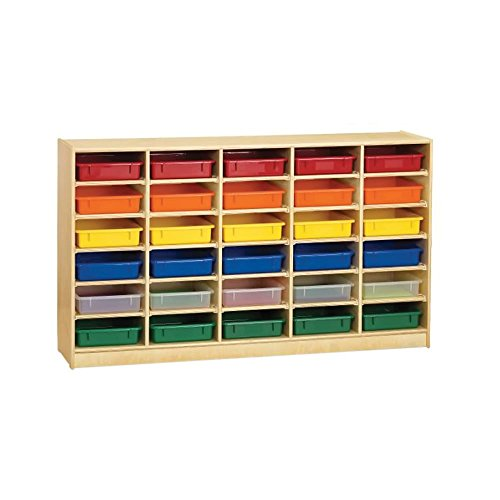 Jonti Craft Jonti-Craft 30 Paper-Tray Cubbie With Colored Paper-Trays electronic consumers