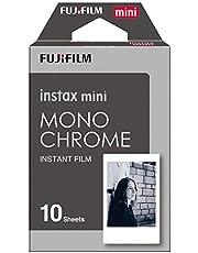 Fujifilm 16531958 Instax Mini Monochrome Film,Black