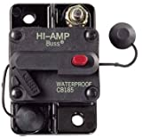 NEW OEM COOPER BUSSMAN CIRCUIT BREAKER 0-42VDC 135AMP MANUAL TYPE III CB185-135