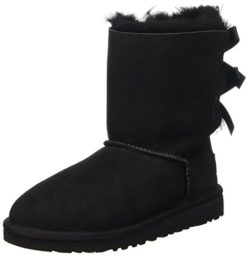 UGG Bailey Bow - Scarpe Walking Baby Unisex Bimbo nero