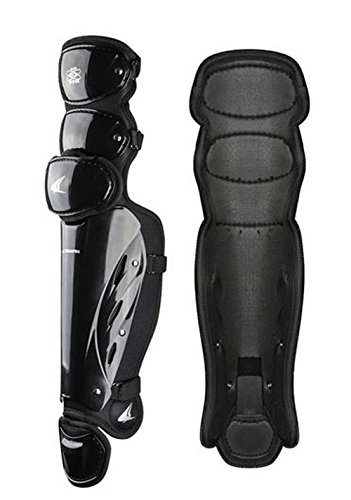 CHAMPRO Pro-Plus Umpire Leg Guard 18.5'' Baseball Softball Protection Black CG385 by CHAMPRO