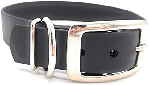 Limited Slip Collar Dog Lover Metal Hardware Glitter Adjustable Sky Blue /& White Glitter with Color Specks Biothane Dog Collar