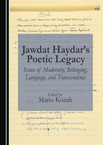 Jawdat Haydar's Poetic Legacy