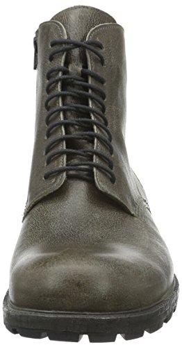 Think Hawara, Zapatillas de Estar por Casa para Hombre Gris - Grau (Antrazit 14)