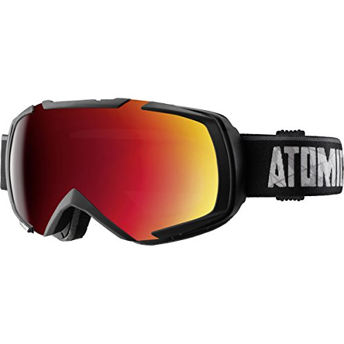 Atomic 2016/17 Revel ML Ski Goggle - AN5105334 (Black/ Red)