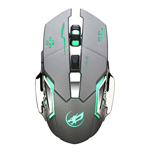 - Sacherron Tech Mice Fashion Quality Warwolf Q8 Charging Wireless Gaming Mouse with 6 Buttons USB Receiver Backlight Gaming Mice Office Mouse
