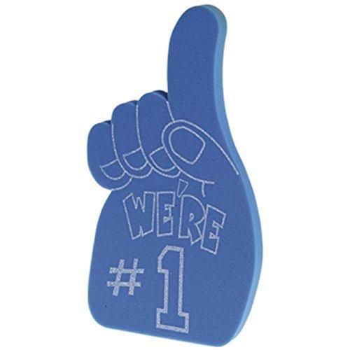 1 Foam Fingers (Foam Number 1 Hands/Blue)