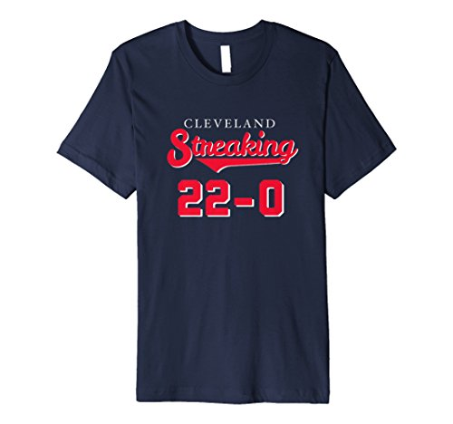 22-0 CLEVELAND STREAKING History Win Streak T Shirt