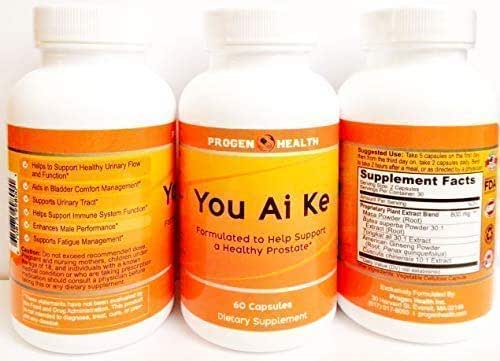 You Ai Ke, a Nature Herbal Supplement formulated to Help Support a Healthy Prostate