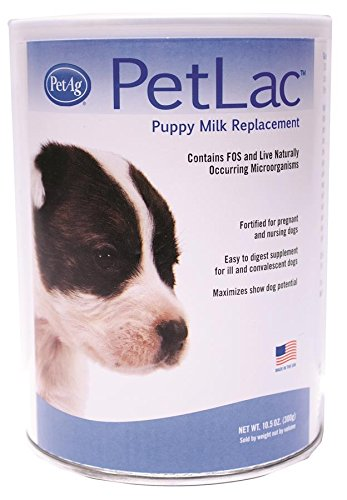 PetLac Milk Powder for Puppies, 10.5-Ounce (Bottle Feeding Puppies)