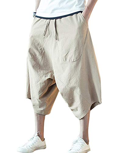 Bermuda Da Beige Antivento Cargo Coulisse Estivo Tessuto Uomo In Oversize Adelina Abbigliamento 8 Casuali Pantaloncini Con 7 Z4HqwBfa