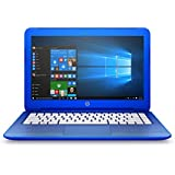HP Stream 13.3-Inch Laptop (Intel Celeron, 2 GB RAM, 32 GB SSD, Cobalt Blue) with Office 365 Personal for One Year