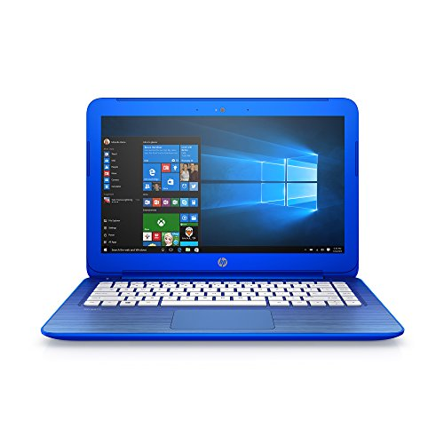 HP Stream 13.3-Inch Laptop (Intel Celeron, 2 GB RAM, 32 GB SSD, Cobalt Blue)