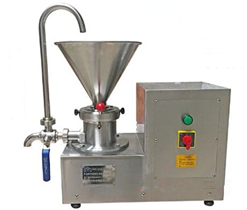 Colloid Mill Machine for Peanut/Sesame Butter Chocolate/Ice Cream Emulsifier 4.1L 80~150mesh by MXBAOHENG