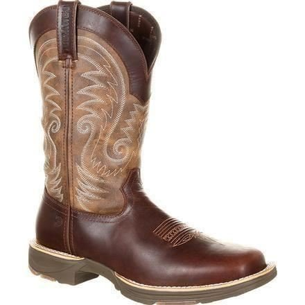 Vintage Square Toe Boots - 9