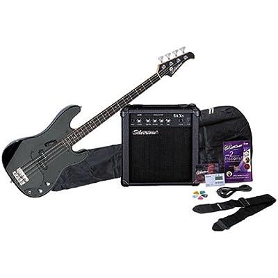 silvertone-lb11-bass-guitar-and-amp