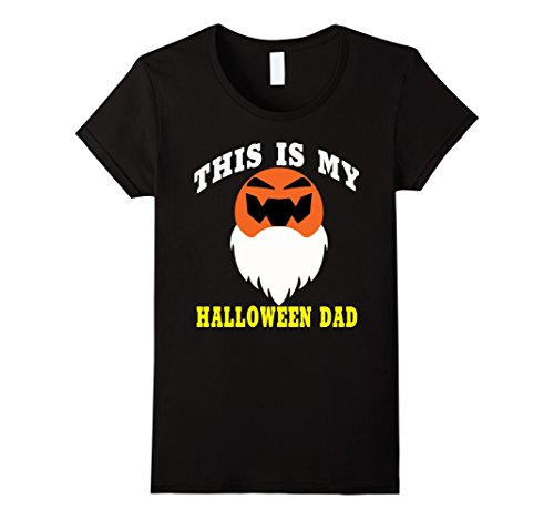 Womens Funny saying this is my Halloween dad Cute dad T-shirt XL Black