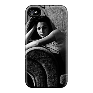 Bumper Hard Cell-phone Case For Iphone 4/4s With Custom Lifelike Evanescence Band Pattern ChristopherWalsh