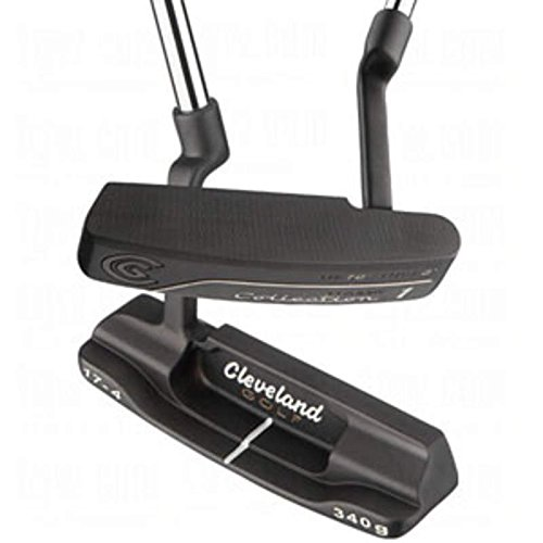 Cleveland 2010 Classic 1 Black Pearl Putter Stock Steel Shaft Steel Regular Right Handed 33.5 in